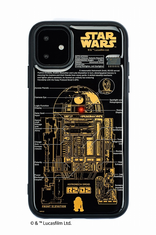 STAR WARS FLASH R2-D2 基板アート iPhone11ケース【ご注文より20営業日前後にて発送】