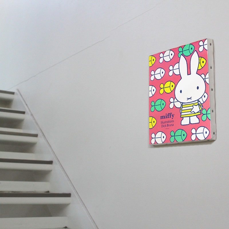 ミッフィー キャンバスアート【ご注文より15営業日前後にて発送】