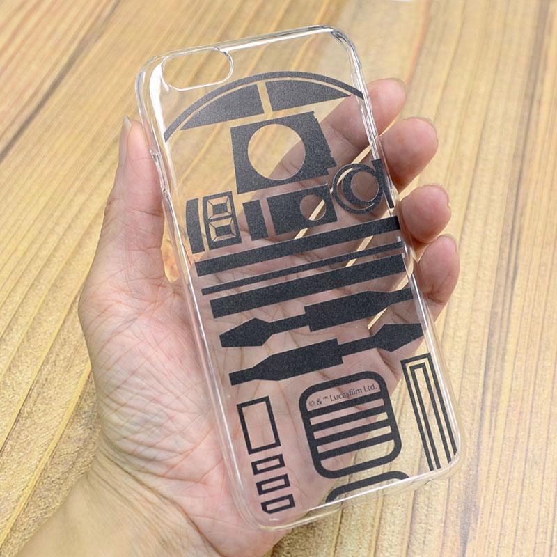 カスタムカバー iPhone 6 STAR WARS(R2-D2)【メール便可】