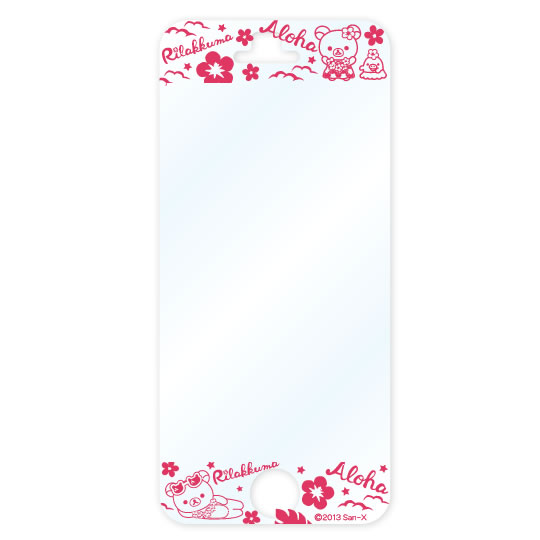 衝撃自己吸収シート for iPhone 5 リラックマ【メール便可】【iPhone SE/5s/5対応】