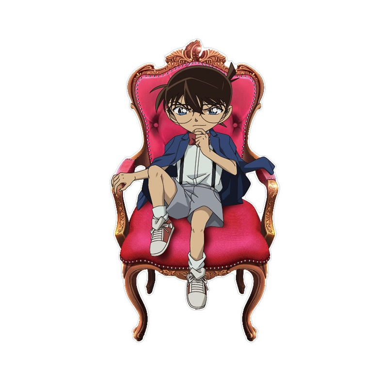 名探偵コナン カベデコール(江戸川コナン 椅子)【ご注文より15営業日前後にて発送】