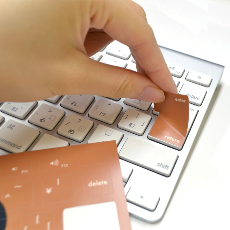 Petamo! for keyboard リラックマ(フェイスデザイン)【メール便可】