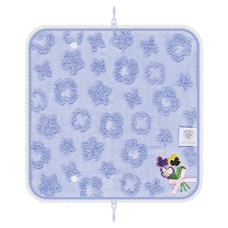 ★マスクケース プレゼント付き★☆ラッピング可能☆どっとポーチ フラワー スナップボタン