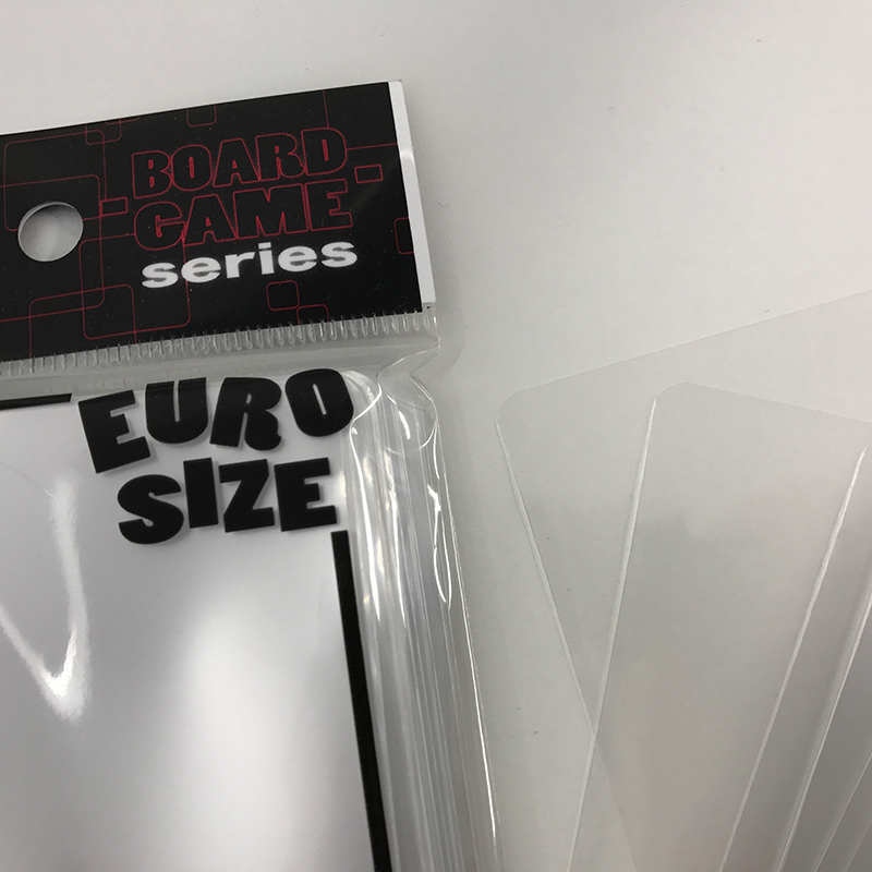 BOARD GAMEシリーズ EUROインナー (透明) 入数:100枚