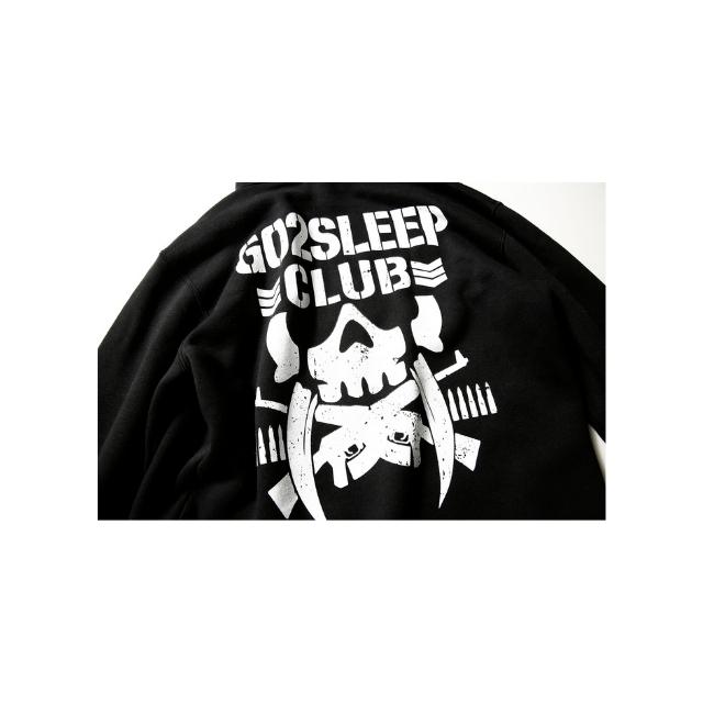 GO 2 SLEEP CLUB SWEAT PARKA