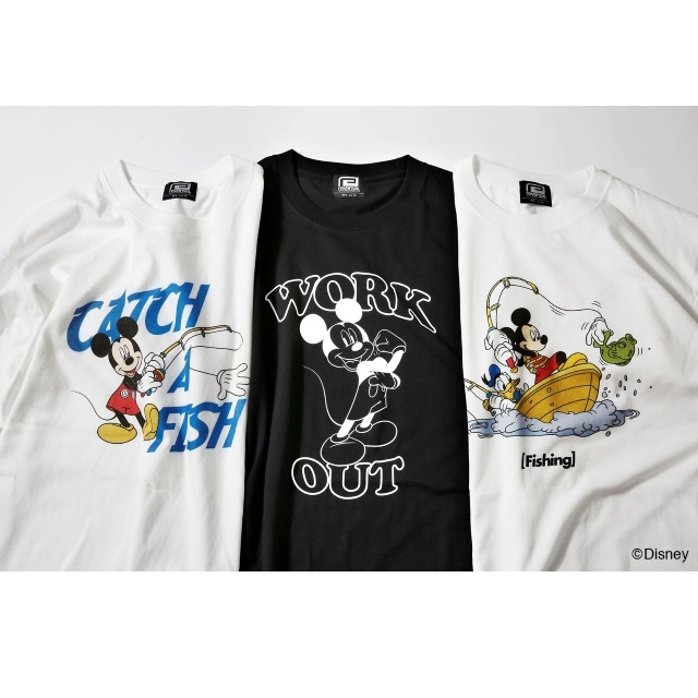 〈Mickey Mouse〉WORK OUT TEE