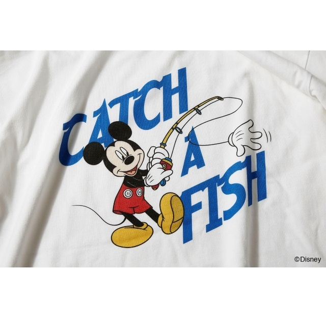 〈Mickey Mouse〉CATCH A FISH TEE