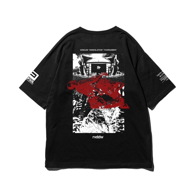 KENGAN ZETSUMEI TOURNAMENT BIG SILHOUETTE TEE