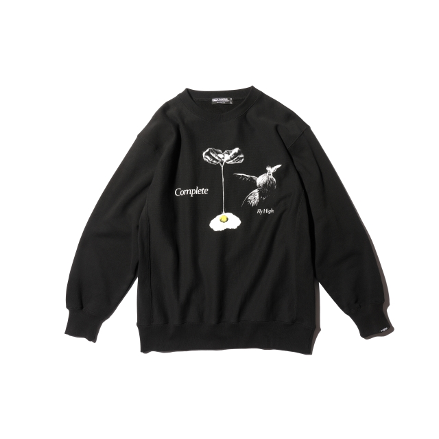 COMPLETE SUPER HEAVY CREW NECK
