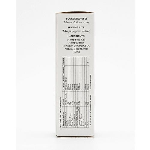 エネクタ 24%CBDオイル(CBD2400mg/10ml)