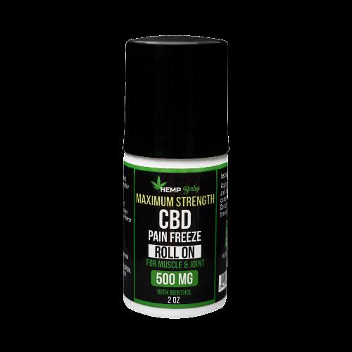 ヘンプベイビー 500mgCBDフリーズロールオン(CBD500mg/60ml)