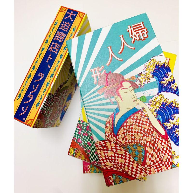 lasolaso×大迫商店コラボ/和モダンズ×帯クラッチバッグ 青海波