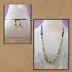 ペリドット・淡水真珠ロングネックレス 特別提供価格 W5093 宝石専門店が作る天然石ネックレス 送料無料