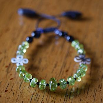 ペリドットブレスレット 特別提供価格 W5098 宝石専門店が作る天然石ブレスレット 送料無料