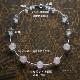 モルガナイトネックレス オリジナルデザイン 手作り一点物  宝石専門店が作る天然石ネックレス 上質 大人仕様 W6009 送料無料(レターパック+)