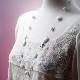 ホワイトオニキスロングネックレス オリジナルデザイン 手作り一点物  宝石専門店が作る天然石ネックレス 上質 大人仕様 W6003 送料無料