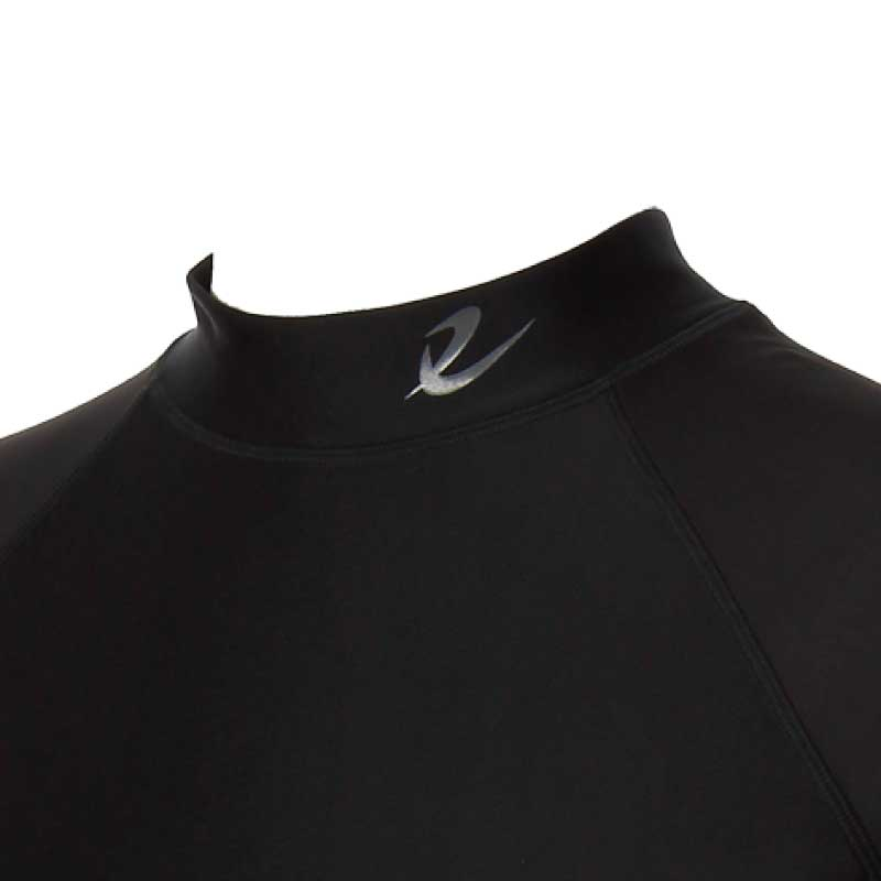 [水陸両用][UVケア][体型カバー]メンズ半袖ラッシュガード(SR1830-ZIP)
