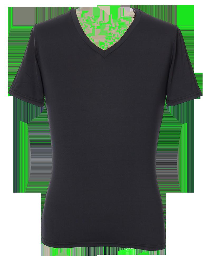 【持続性涼感】【熱中症対策】『氷爽』ヒョウソウ メンズVネック半袖Tシャツ UVケア UPF50+ 吸汗速乾 (CL14)