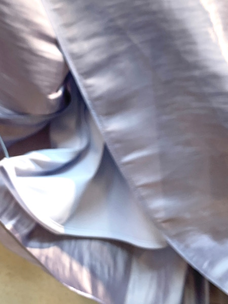 dolly-sean/ドリーシーン キラキラストライプ ロングスカート ・ M8372 [送料無料]