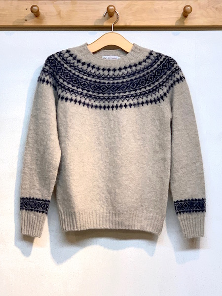 JHON TULLOCH/ジョンタロック  HEAVY BRUSH NORDIC CREW NECK PULLOVER  ・ NJT1661  [送料無料]