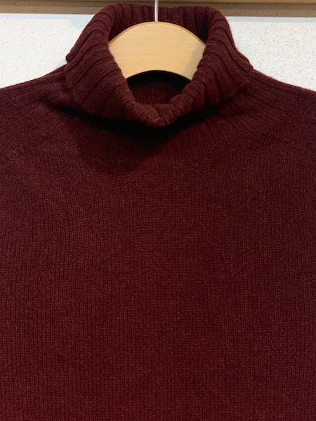 """ARMEN/アーメン """"Modele Particulier ARMEN"""" POLO NECK SADDLE SHOULDER ONE-PIECE  ・ JNAMP1751 [送料無料]"""