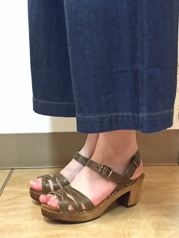 SALE  EXPERTエキスパート  HIGH HEEL NARROW STRAP SANDAL  ・  NEP1602H