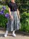 O'NEIL OF DUBLIN /オニールオブダブリン  LIBERTY LOW WAIST PLEATS WRAP SKIRT (WITH PIN) ・ NOD1901LIB(#1028) [送料無料]