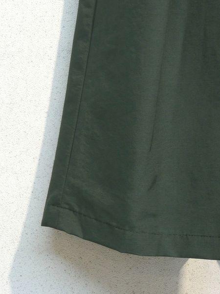 Crespi/クレスピ C/Nグログラン タック&ギャザーロングスカート ・ 504-7802