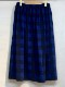 SOIL/ソイル COTTON FLANNEL YARN DYED CHECK GATHERED WRAP SKIRT ・ NSL20555  [送料無料]