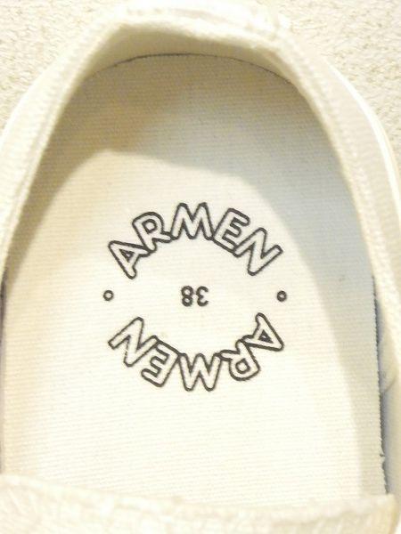 再入荷 ARMEN/アーメン ローカットスニーカー ・ NAMC0701
