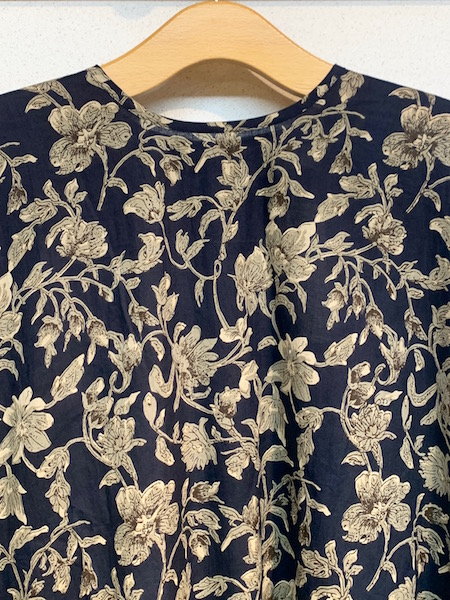 SOIL/ソイル 60'S CAMBRIC FLOWER PRINT BACK SIDE GATHERED DRESS ・ NSL20573 [送料無料]