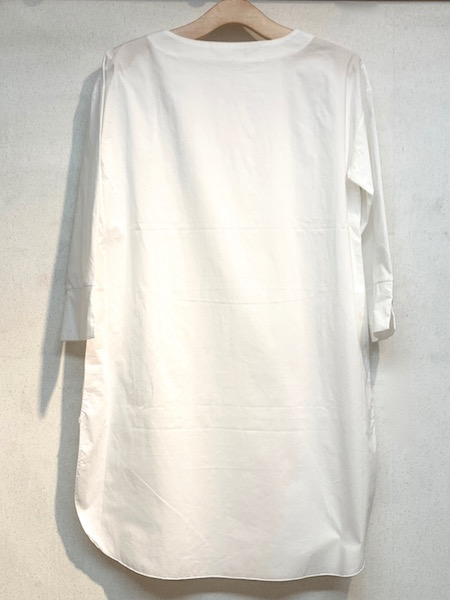 mao made/マオメイド  インナー付きコットンニットVネックロングベスト ・ 141153
