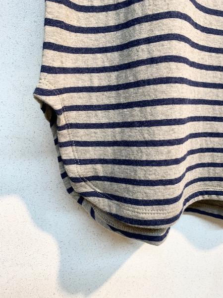 TANG/タング  接結スーピマコットンボトルネックカットソー(製品洗い) ・ 1925002