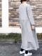 ARMEN/アーメン 40'S POPLIN BOAT NECK L/SL ONE-PIECE  ・ INAM1951PD [送料無料]