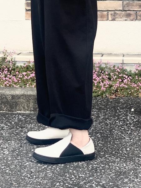 再入荷! yuko imanishi+ユウコイマニシプラス  サイドゴアスリッポンシューズ ・ 796017 [送料無料]