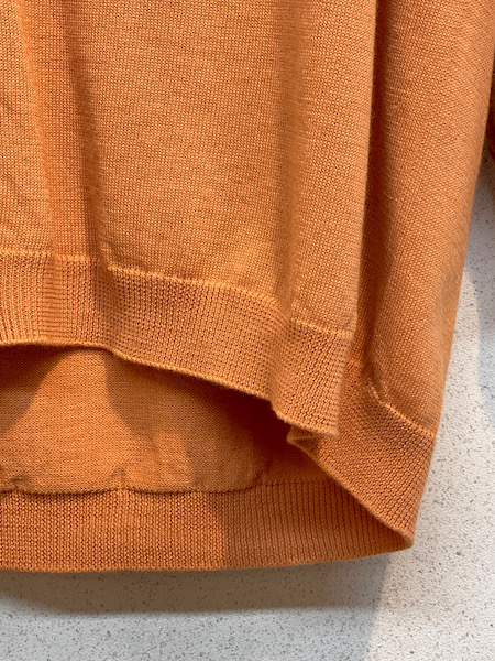 『ゆうパケット対応』 SALE TANG/タング  オーガニックコットン×リサイクルポリエステル ホールガーメントカーディガン  ・ 1810309