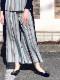yuko imanishi+/ユウコイマニシプラス レザーセンターシームフラットパンプス ・ 74190-12