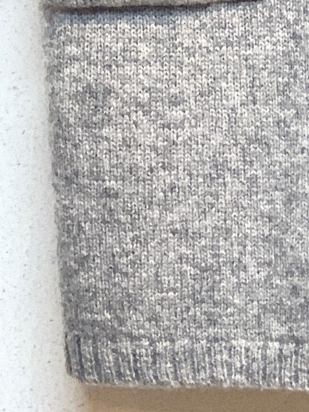 TANG/タング  シェットランドウールニットロングベスト ・ 1720303