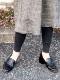 yuko imanishi+/ユウコイマニシプラス  ゴートレザーローファーパンプス ・ 701061 [送料無料]