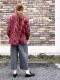 Crespi/クレスピ  2020AW RIVATE VIEW リバティーミックス ハイネックブラウス ・ 304-9007 [送料無料]