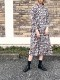 """Crespi/クレスピ  リバティプリント""""Yoshieローズデシン×Crespi コレクション""""スタンドカラーワンピース ・ 304-1002 [送料無料]"""
