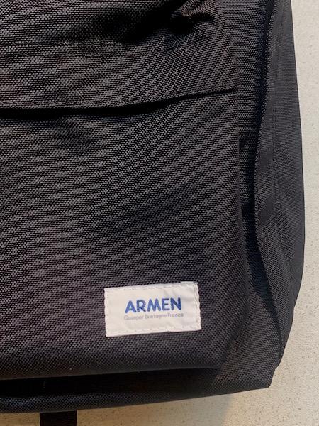 ARMEN/アーメン コーデュラナイロンデイパック ・ PNAM1611CN