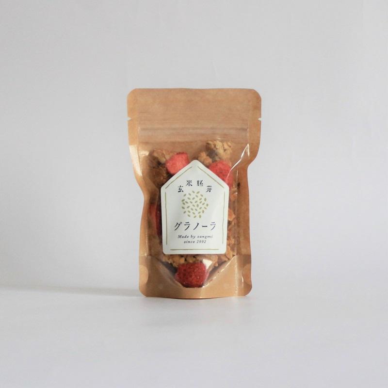 玄米胚芽グラノーラ・ミニ(いちご)
