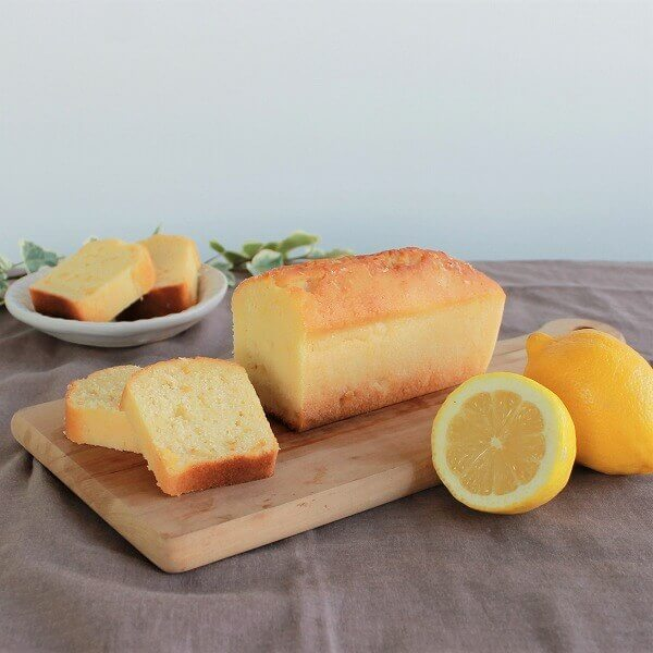 【数量限定】有機レモンとココナッツオイルの米粉ケーキ