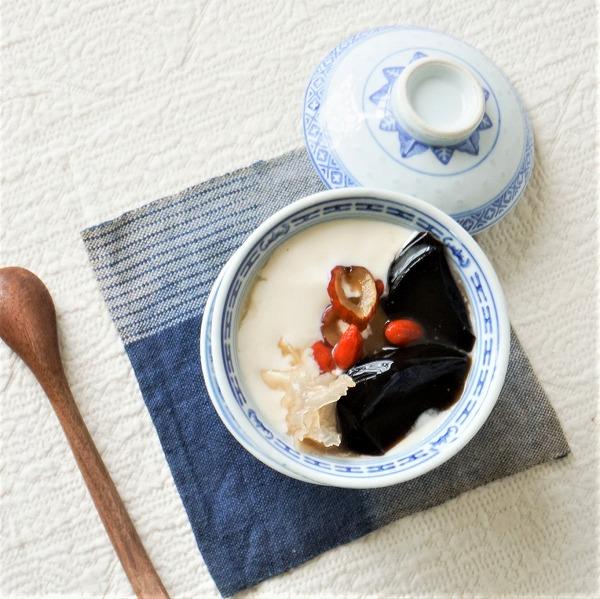 【数量限定】実身美の豆花(トウファ)(豆乳プリンM瓶・仙草ゼリーM瓶・生姜シロップS瓶)