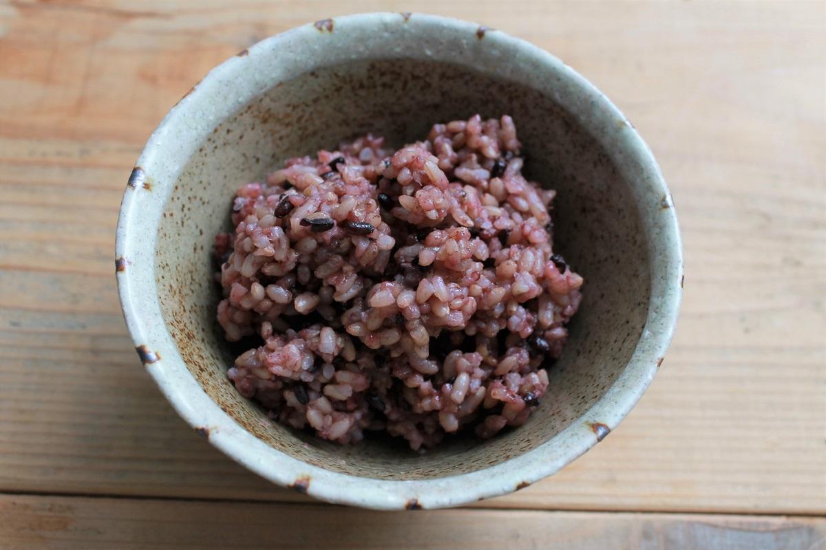 実身美の炊き立て玄米ごはん・玄米・黒米ブレンド・雑穀米ブレンド(各種150g×4個入り)