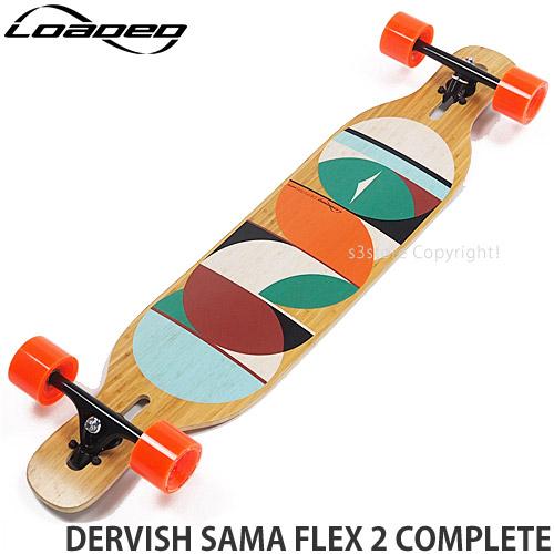 """ローデッド ダービッシュ サマ コンプリート 【LOADED DERVISH SAMA FLEX 2 COMPLETE】 スケートボード スケボー ロングボード 完成品 SKATEBOARD カラー:ParisV3 In Heat 75mm/80a サイズ:9"""" x 42.8"""""""