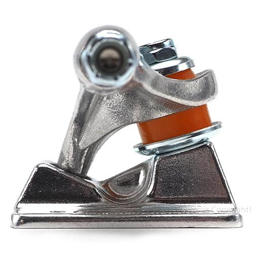 インディペンデント ステージ11 フォージド チタニウム トラック セット 【INDEPENDENT STAGE 11 FORGED TITANIUM STANDARD TRUCKS SET】 スケートボード パーツ ストリート SKATEBOARD 2個 ハイ チタン 最軽量 カラー:Silver サイズ:144Std