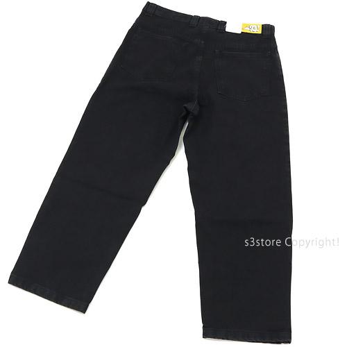 ポーラー スケート カンパニー 93 デニム 【POLAR SKATE CO 93 DENIM】 パンツ ズボン ボトムス メンズ ストリート スケートボード カラー:PITCH BLACK