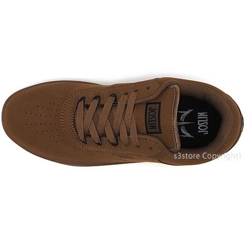エトニーズ ジョスリン 【ETNIES JOSLIN】 スニーカー スケボー スケートボード シューズ スケシュー 靴 メンズ ユニセックス SKATEBOARD カラー:BROWN/BLACK/GUM